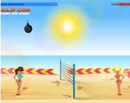 Boom boom volleyball játék