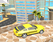 Crazy taxi car simulation game 3d online