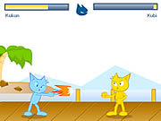 Kucing fighter online játék