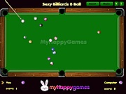 Sexy billiards 8 ball 2 szem�lyes j�t�kok